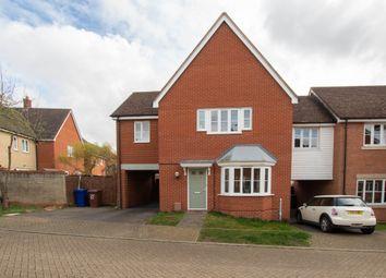 Thumbnail 3 bed link-detached house for sale in Alderton Close, Haverhill