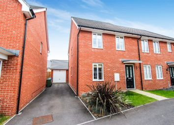 Thumbnail 3 bedroom semi-detached house for sale in St. Johns Lane, Papworth Everard, Cambridge