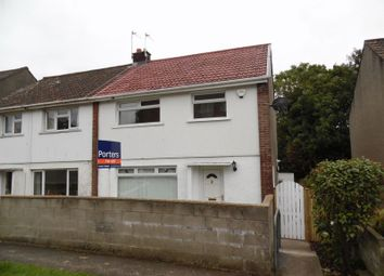 Thumbnail 3 bed semi-detached house to rent in Canberra Road, Bridgend