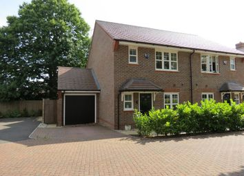 Thumbnail 3 bed semi-detached house to rent in Frimley, Camberley