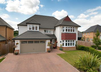 Thumbnail 4 bed detached house for sale in Brooks Drive, Ryarsh, West Malling