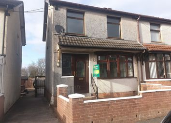 Thumbnail 3 bed semi-detached house for sale in Pencoed Avenue, Cefn Fforest, Blackwood