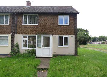 Thumbnail 3 bedroom end terrace house for sale in Riseborough Walk, Bulwell, Nottingham