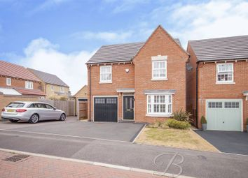 Thumbnail 3 bed detached house for sale in The Hay Fields, Rainworth, Mansfield