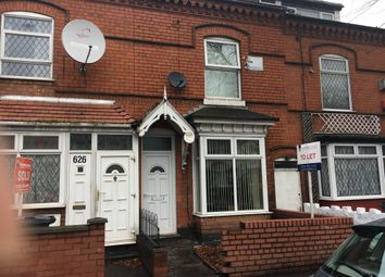 Thumbnail 3 bed terraced house to rent in Bordesley Green Road, Bordesley Green, Birmingham