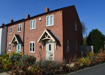 Thumbnail 3 bed end terrace house for sale in Burton Road, Whittington, Lichfield