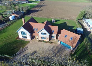 Thumbnail 4 bed detached house for sale in Manor Road, Elmsett, Ipswich, Suffolk