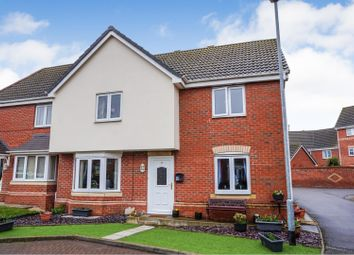 Thumbnail 4 bed semi-detached house for sale in Londinium Way, North Hykeham