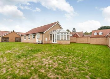 Thumbnail 3 bed bungalow for sale in Croxton, Thetford, Norfolk