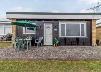 Thumbnail 1 bed mobile/park home for sale in Marconi Holiday Villages, Penarth