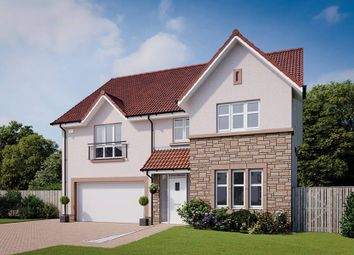 "Thumbnail 5 bed detached house for sale in ""The Lewis"" at Browncarrick Drive, Ayr"