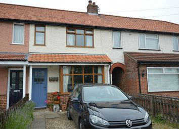 3 bed terraced house for sale in Charles Avenue, Thorpe St Andrew, Norwich, Norfolk NR7