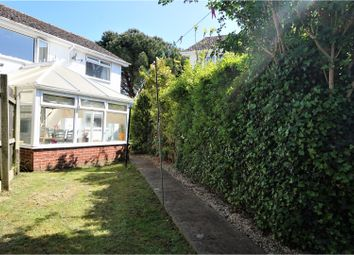 Thumbnail 3 bed semi-detached house for sale in Gibson Road, Paignton