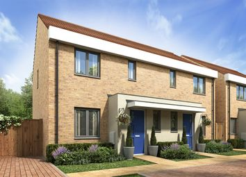 "Thumbnail 2 bed semi-detached house for sale in ""The Hanbury"" at Thomas Bata Avenue, East Tilbury, Tilbury"