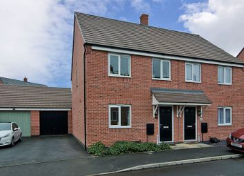 Thumbnail 3 bed semi-detached house for sale in Canon Lane, Rugeley