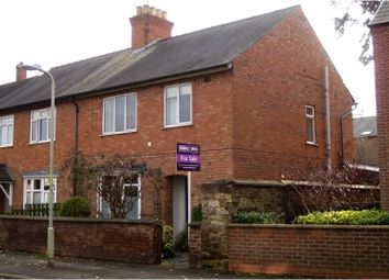 Thumbnail 3 bed semi-detached house for sale in Station Road, Oakham