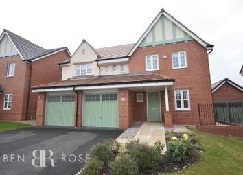Thumbnail 5 bed detached house for sale in Hampton Grove, Leyland