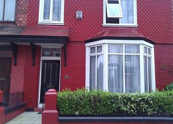 Thumbnail 5 bedroom terraced house to rent in Rossett Avenue, Liverpool