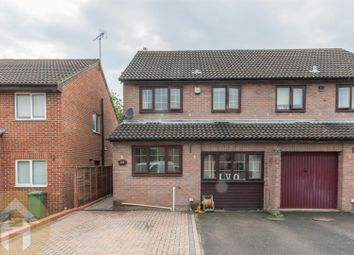 Thumbnail 3 bedroom semi-detached house for sale in Glenville Close, Royal Wootton Bassett, Swindon