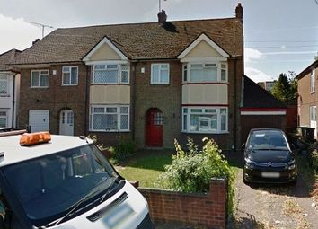Thumbnail 3 bed semi-detached house to rent in Dunstable Road, Luton