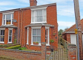 Thumbnail 2 bed semi-detached house for sale in Alexandra Road, Beccles