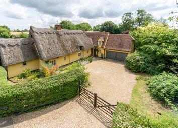 Thumbnail 4 bed cottage for sale in Monks Corner, Great Sampford, Saffron Walden