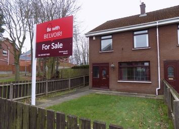 Thumbnail 3 bed end terrace house for sale in Causeway End Park, Ballinderry Upper, Lisburn