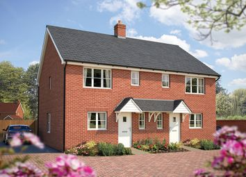 "Thumbnail 2 bed terraced house for sale in ""The Netley"" at Winchester Road, Hampshire, Botley"