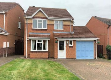 Thumbnail 3 bed detached house to rent in Chalmondley Drive, Melton Mowbray