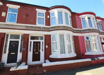 Thumbnail 3 bed terraced house to rent in Stormont Road, Garston, Liverpool
