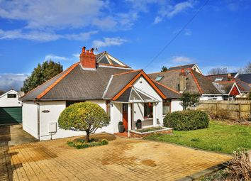Thumbnail 4 bed detached bungalow for sale in Port Road East, Barry