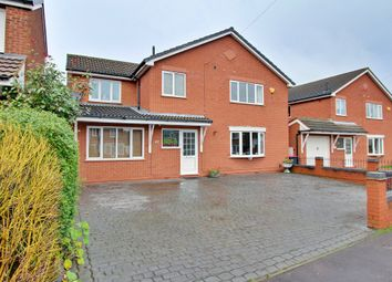 Thumbnail 5 bed detached house for sale in Church Road, Dordon, Tamworth