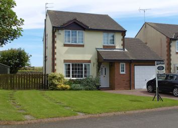 Thumbnail 3 bed detached house for sale in Manor Grange, North Broomhill, Morpeth