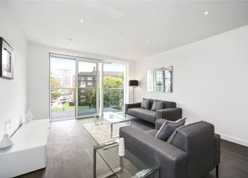 Thumbnail 2 bed flat to rent in Skyline Apartments, Devan Grove, London