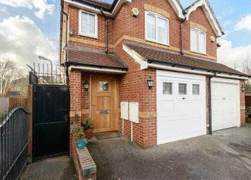 Thumbnail 4 bed semi-detached house for sale in St. Johns Close, Southgate