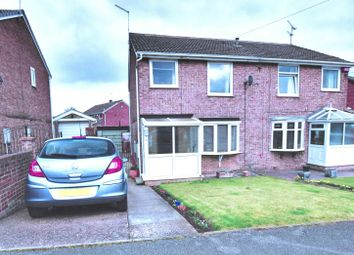 Thumbnail 3 bed semi-detached house for sale in Sunningdale Drive, Cudworth, Barnsley, South Yorkshire