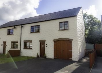 Thumbnail 3 bed semi-detached house for sale in Glanafon Gardens, Haverfordwest