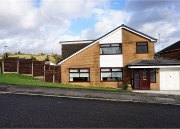 Thumbnail 4 bed detached house for sale in Laburnum Way, Littleborough