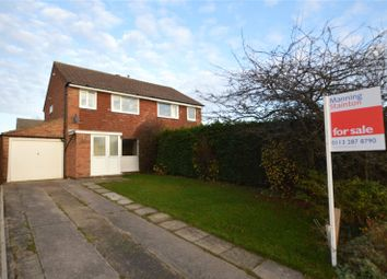Thumbnail 3 bed semi-detached house for sale in Invargarry Close, Garforth, Leeds