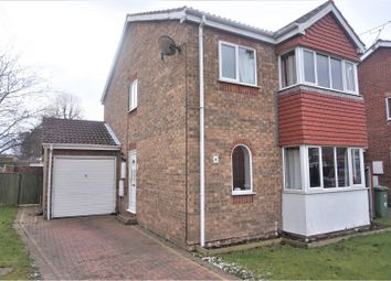 Thumbnail 4 bed link-detached house for sale in Hazel Croft, Immingham