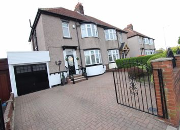 Thumbnail 3 bed semi-detached house for sale in Dunelm South, Sunderland