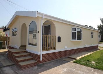 Thumbnail 3 bed mobile/park home for sale in Sunningdale Park, New Tupton, Chesterfield, Derbyshire