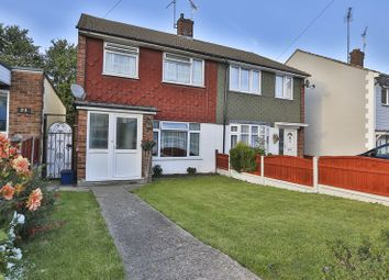 Thumbnail 3 bed semi-detached house for sale in Cornec Avenue, Eastwood, Leigh-On-Sea