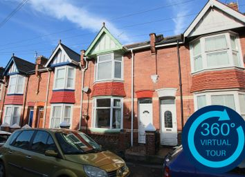 Thumbnail 4 bed terraced house for sale in East Grove Road, St Leonards, Exeter