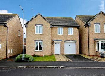 Thumbnail 4 bedroom detached house for sale in Dunnock Road, Corby