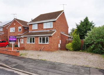 Thumbnail 3 bed detached house for sale in Sheringham Road, Worcester