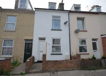 Thumbnail 3 bed terraced house to rent in Queens Road, Lowestoft, Suffolk
