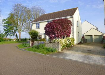 Thumbnail 4 bed detached house for sale in Trinity Close, Blackford, Wedmore