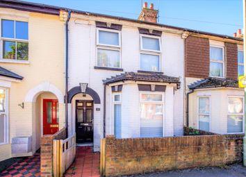 Thumbnail 2 bed terraced house for sale in Western Road, Aldershot