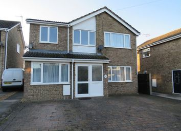 Thumbnail 4 bed detached house to rent in Manor Road, Stilton, Peterborough
